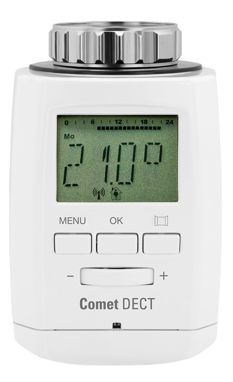 comet dect heizk rperthermostat f r die fritz box. Black Bedroom Furniture Sets. Home Design Ideas