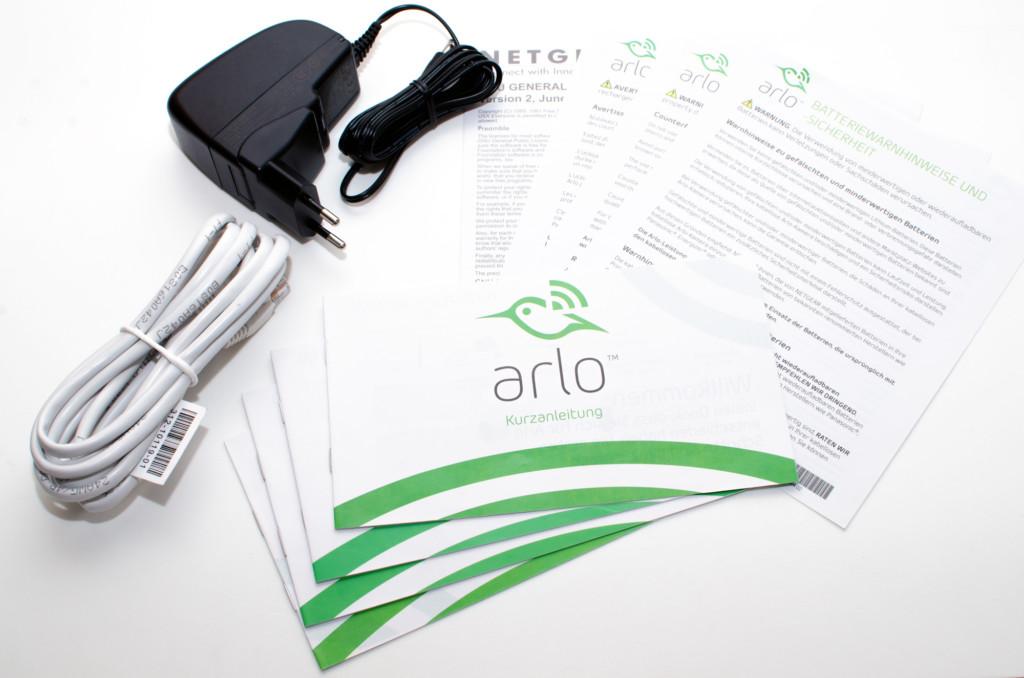 Netgear Arlo - Dokumentation