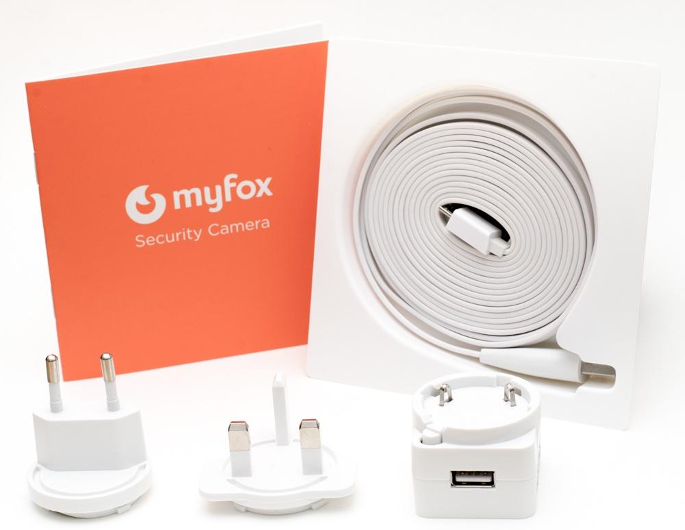 Myfox Sicherheitskamera - Lieferumfang