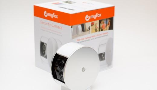 Myfox Sicherheitskamera - Verpackung mit Kamera