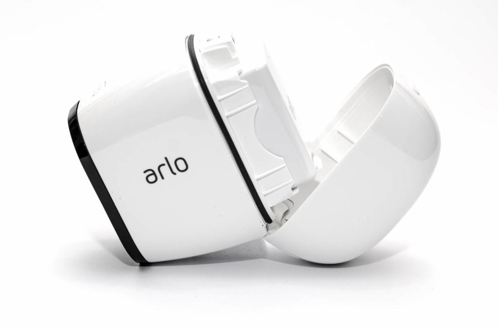 Netgear Arlo Pro - Akku in Kamera