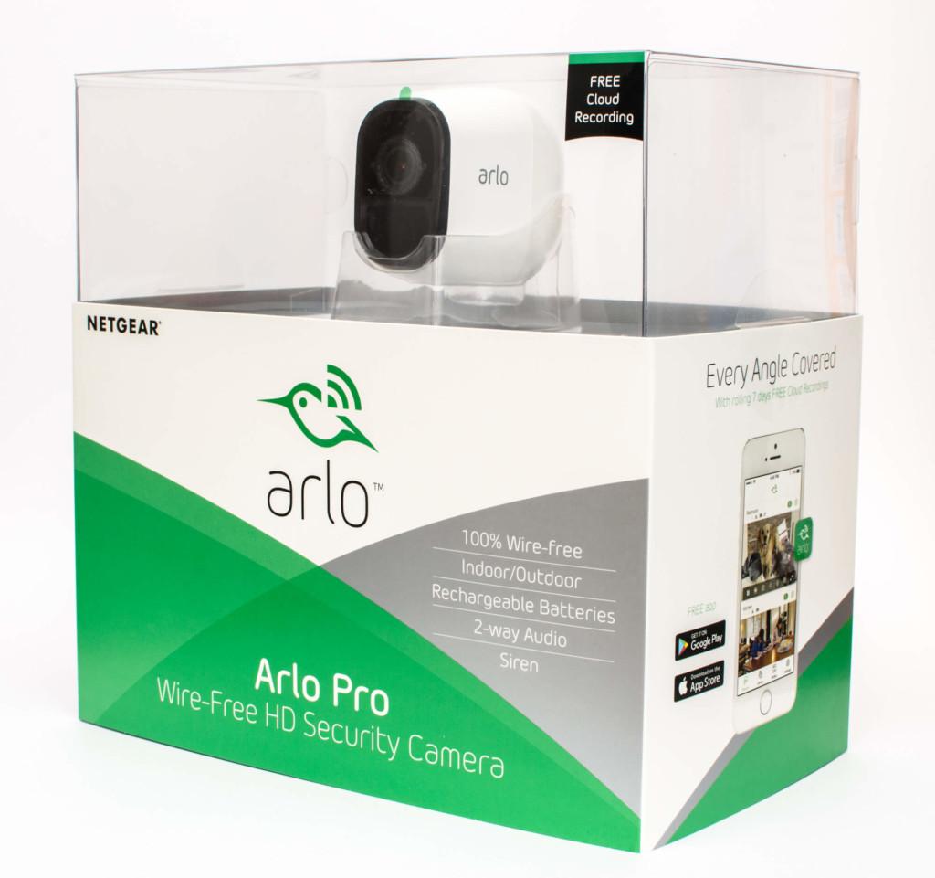 Netgear Arlo Pro - Verpackung