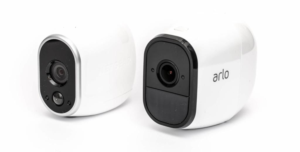 Netgear Arlo Pro - Vergleich mit Arlo Wire-Free