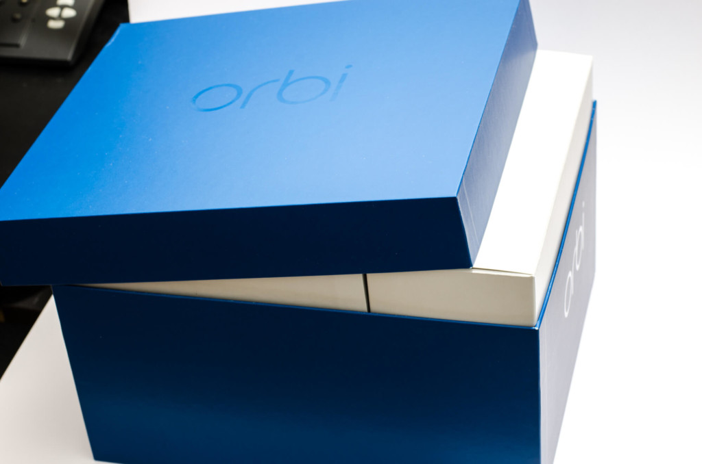 Netgear Orbi - Verpackung