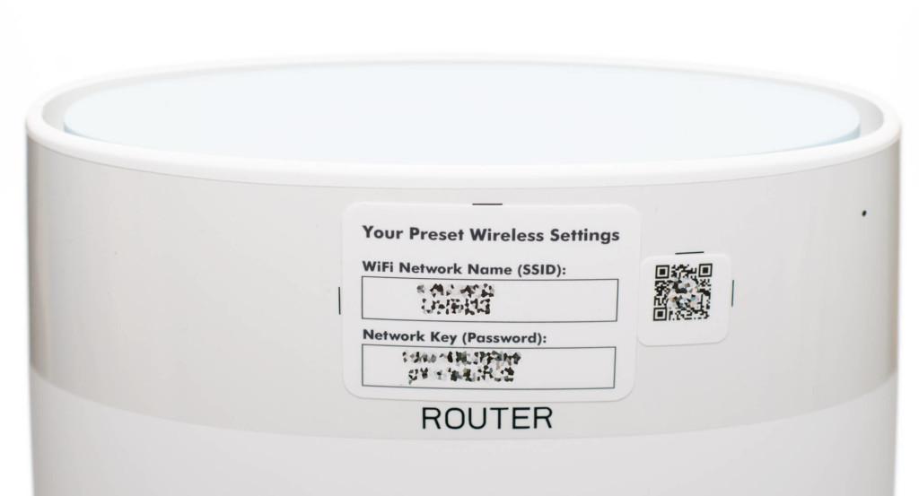 Netgear Orbi - WLAN-Zugangsdaten