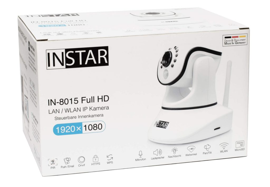 INSTAR IN-8015 Full HD - Verpackung