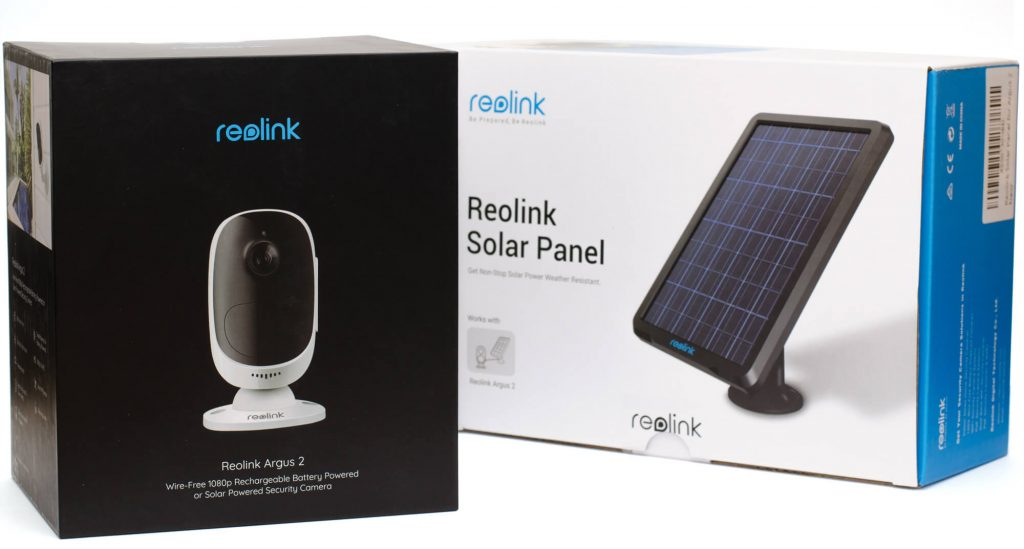 Reolink Argus 2 + Solarpanel
