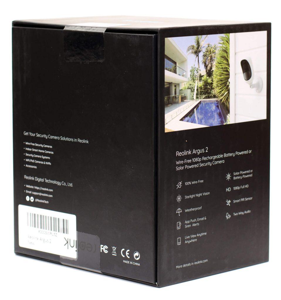 Reolink Argus 2 - Verpackung
