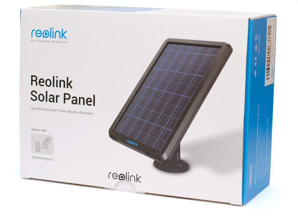 Reolink Solarpanel - Verpackung