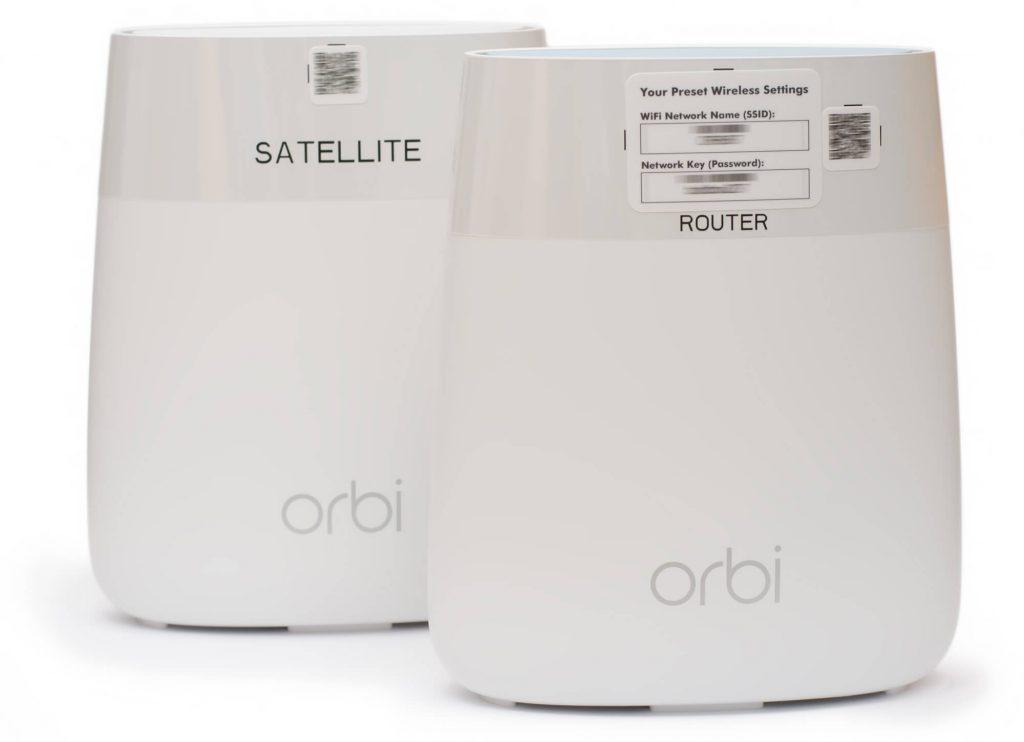 Netgear Orbi (RBK20) - Initiale Zugangsdaten
