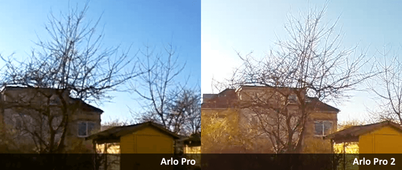 Arlo Pro 2 - Vergleich Details