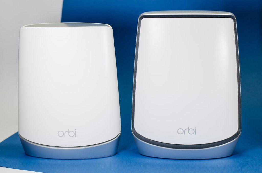 Orbi RKB752  im Vergleich zu RBK852