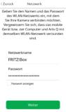 Arlo App - WLAN Zugangsdaten